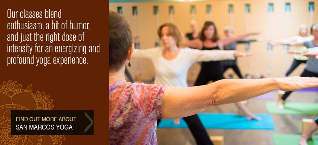 yoga san marcos class